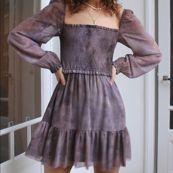 NWT Aritzia Tempest dress in slate